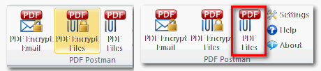 PDF Postman for Outlook Screenshot