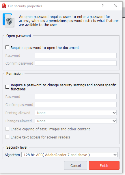 PDF Pro, Business & Finance Software, PDF Conversion Software Screenshot