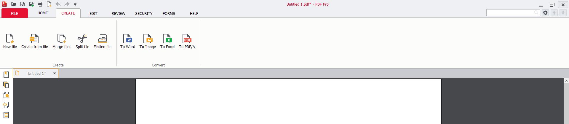 PDF Pro, Business & Finance Software Screenshot