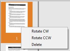 PDF Scan Pro, PDF Utilities Software Screenshot