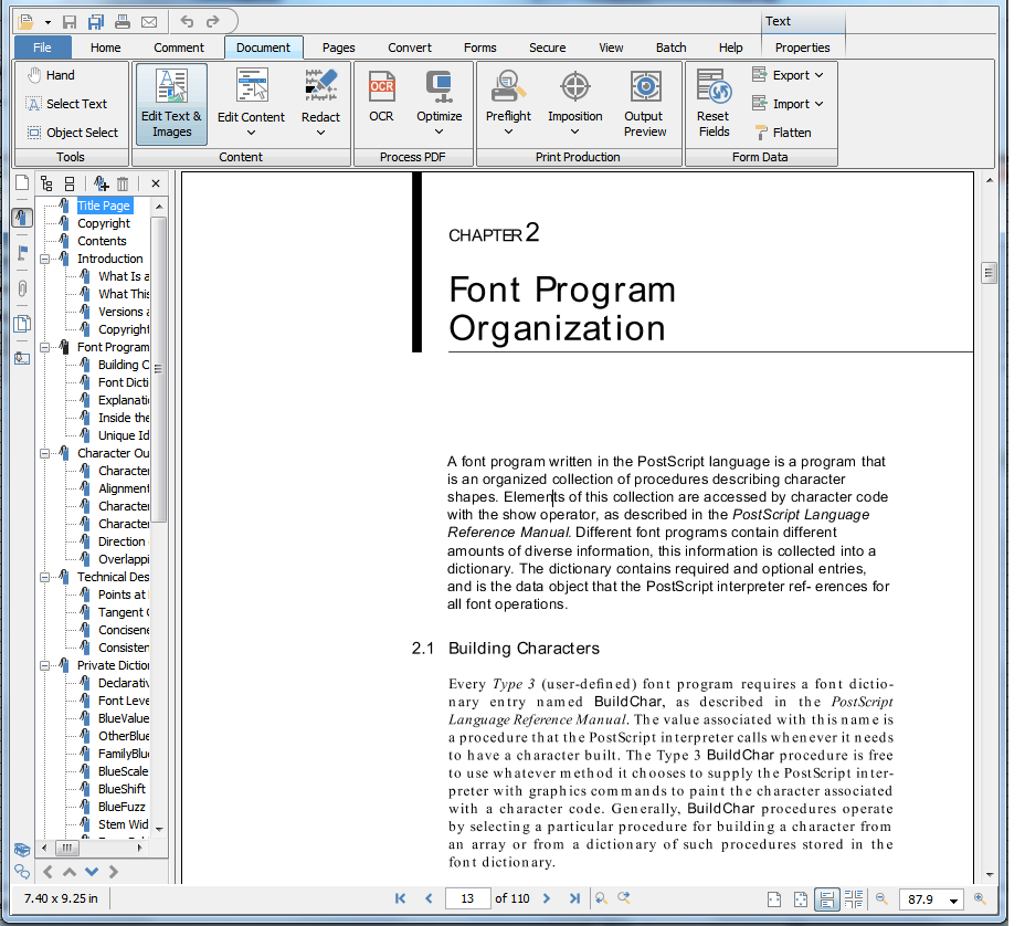 PDF Studio 2018: All-in-one PDF software, PDF Utilities Software Screenshot