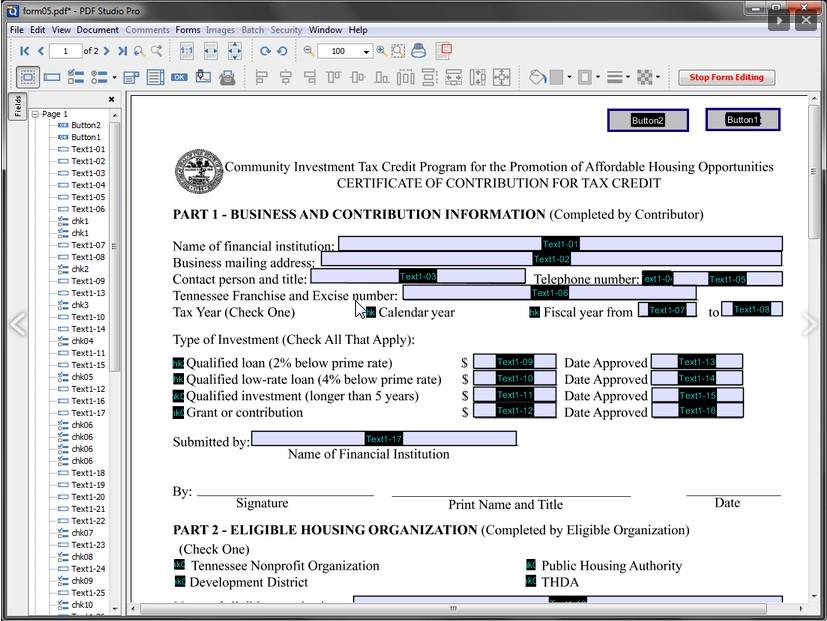 Business & Finance Software, PDF Studio 2019: All-in-one PDF software Screenshot