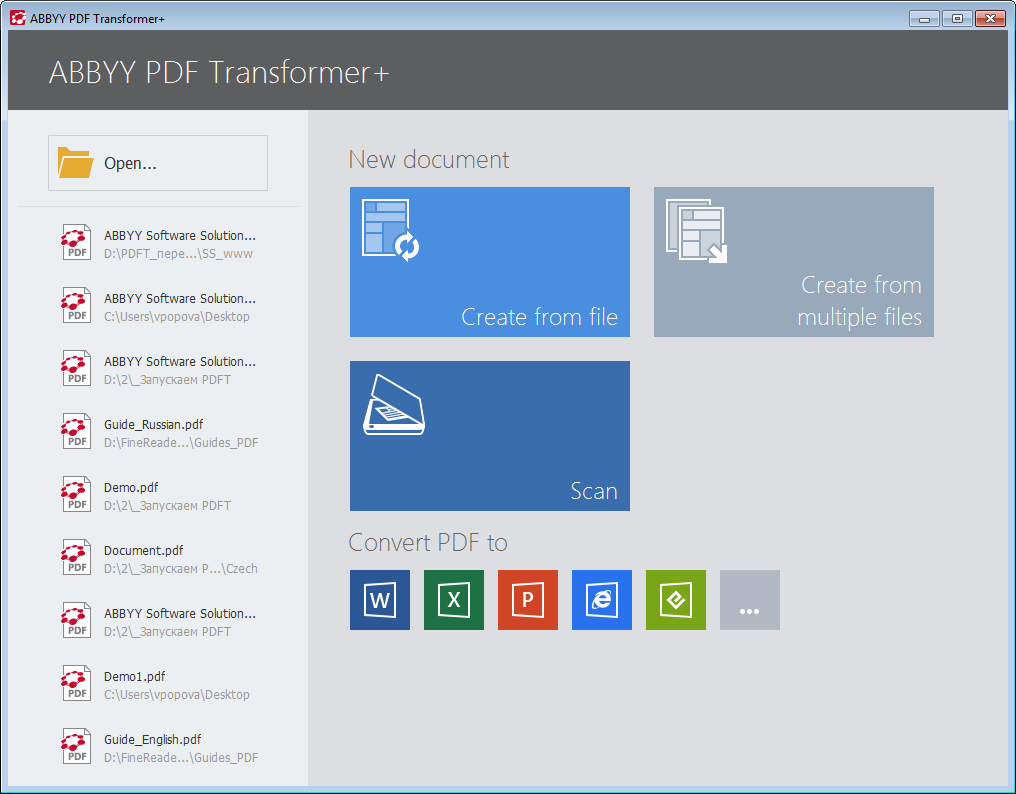 PDF Transformer+ Screenshot