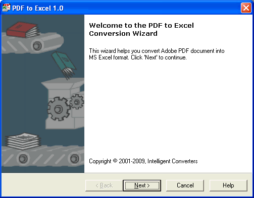PDF-to-Excel Screenshot