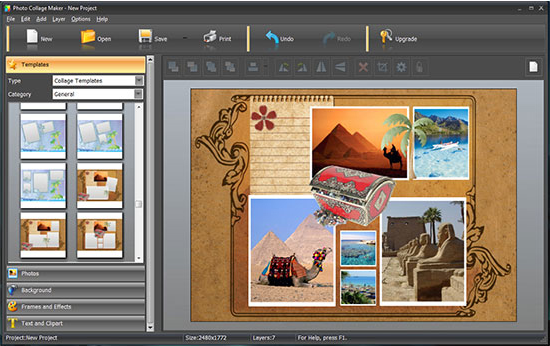 Photo Collage Maker PRO - Art Technique Software - 30% off PC