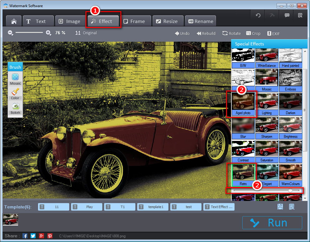 Watermark Software, Photo Watermark Software Screenshot