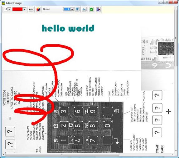 Photocopier Expert 7, Organization Software Screenshot
