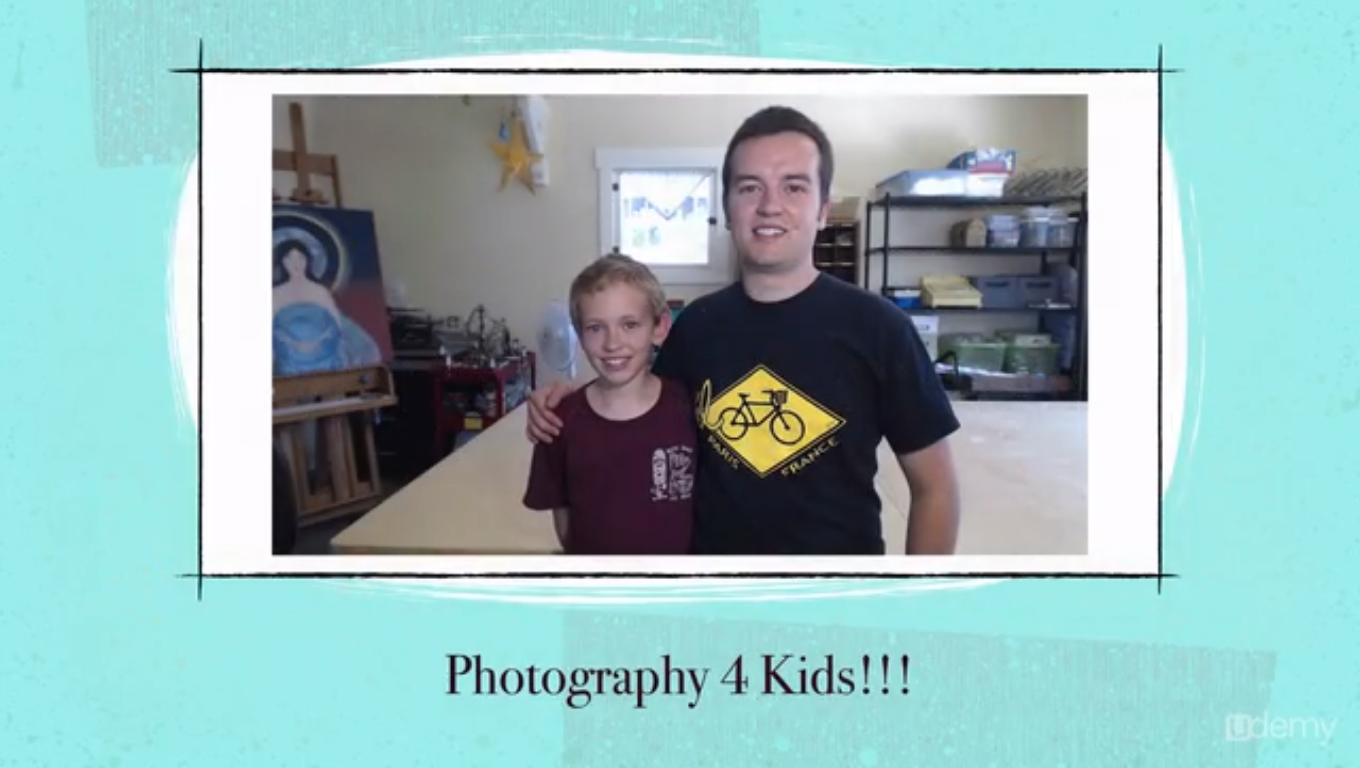 Photography for Kids: Project-Based Beginner Photography Screenshot