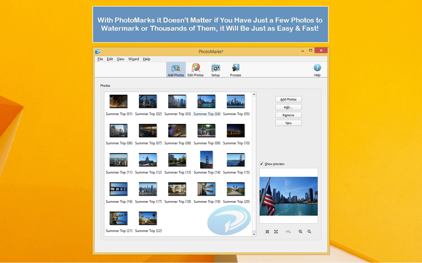Free photo watermark software for mac PhotoMarks Batch Watermark Photos on Mac & PC