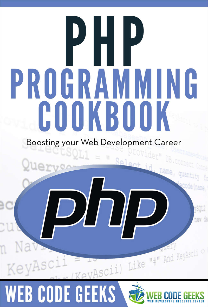 PHP Programming Cookbook Screenshot