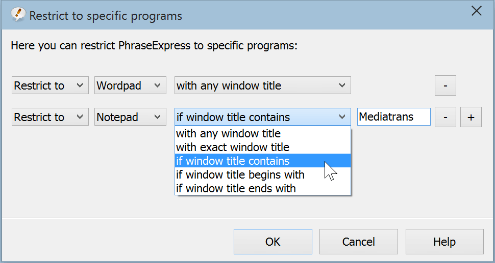PhraseExpress Enterprise Edition, Business & Finance Software Screenshot