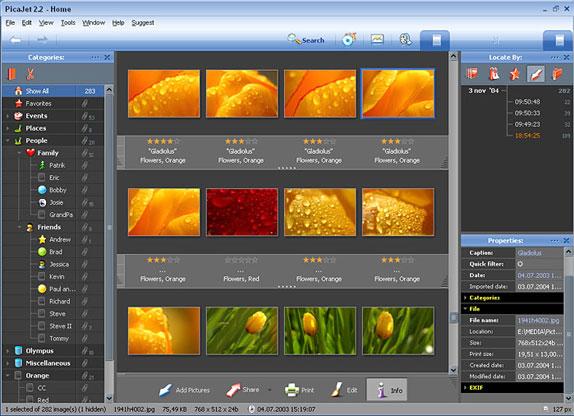 PicaJet FX Screenshot
