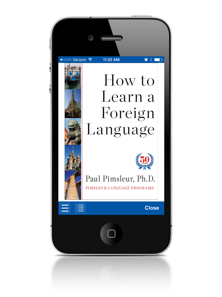 Pimsleur App + First 5 Lessons! Screenshot