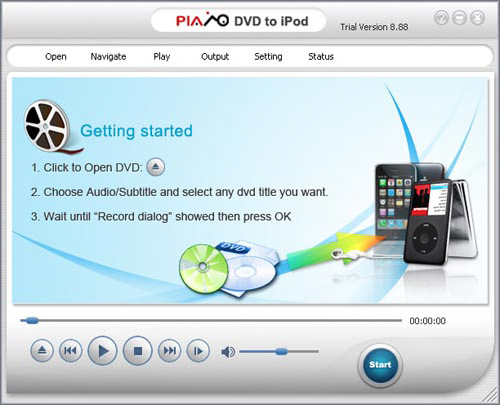 Plato iPod Package Screenshot