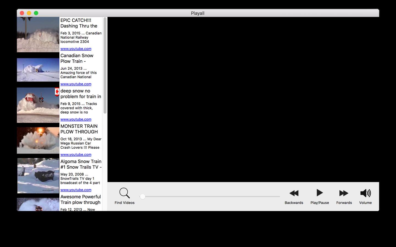 Playall Screenshot
