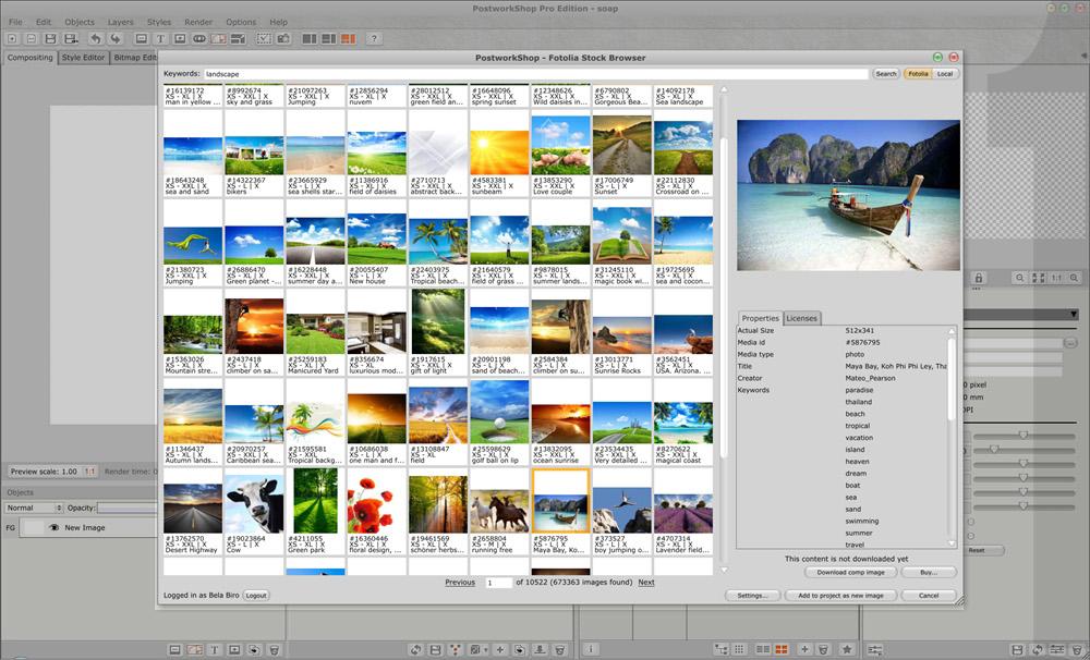 PostworkShop Pro Edition Screenshot