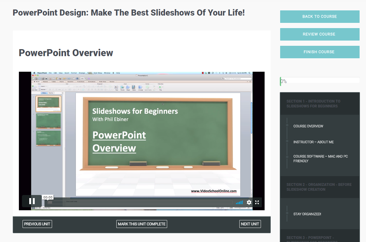 PowerPoint Design: Make The Best Slideshows Of Your Life! Screenshot
