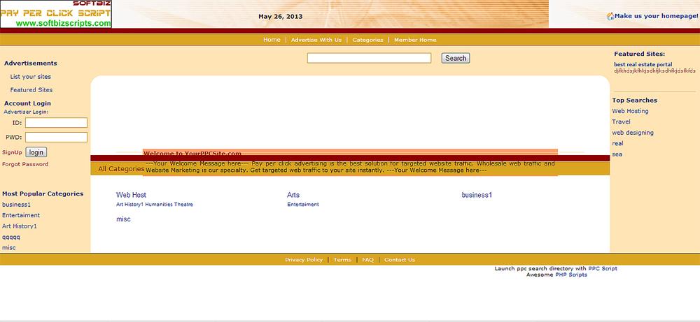 PPC Script Screenshot