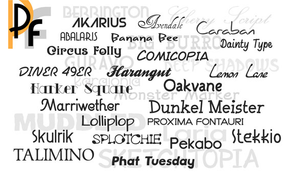Premium Fonts Screenshot