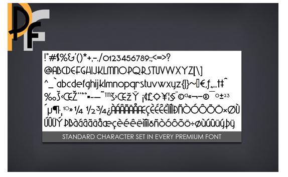 Design, Photo & Graphics Software, Premium Fonts Screenshot