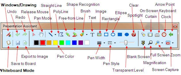Presentation Marker Screenshot