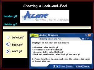 Professor Teaches HTML Fundamentals Screenshot