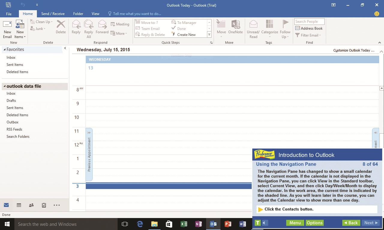 Professor Teaches Web Library, Business & Finance Software Screenshot