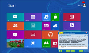 Professor Teaches Windows 8.1 Tutorial Set Downloads Screenshot