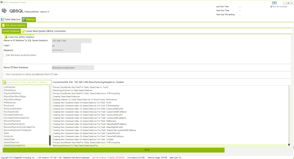 QBSQL, Business & Finance Software, Business Management Software Screenshot