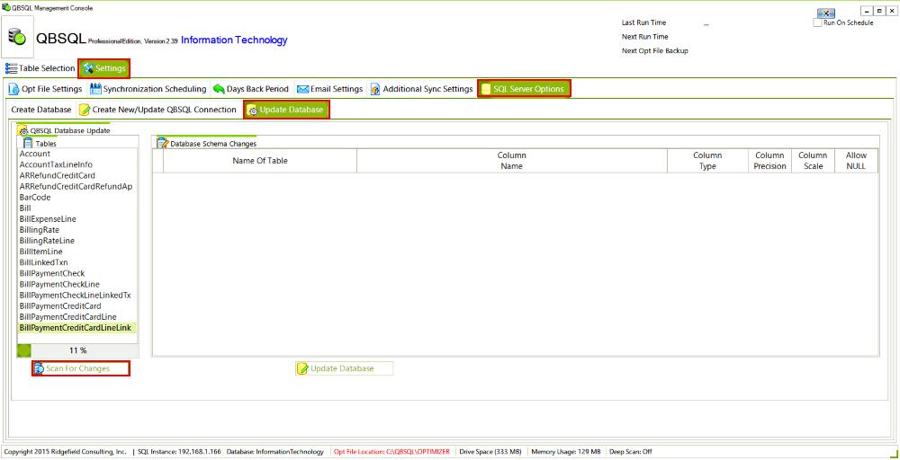 QBSQL Screenshot 8