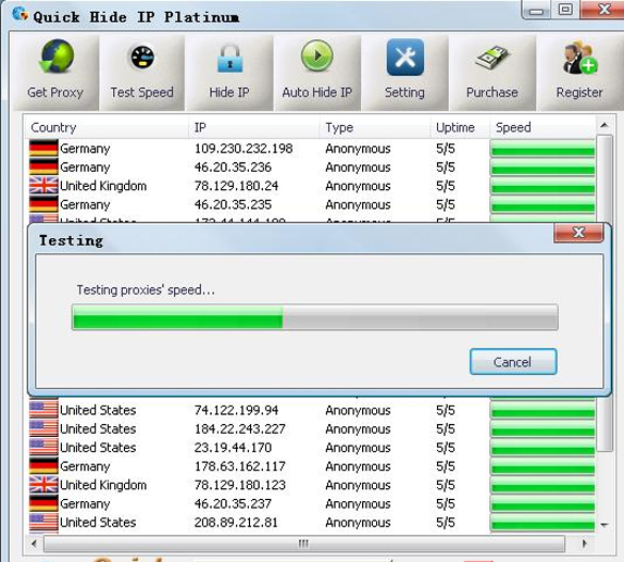 Platinum Hide IP is a tool to keep your Internet session anonymous. . It h
