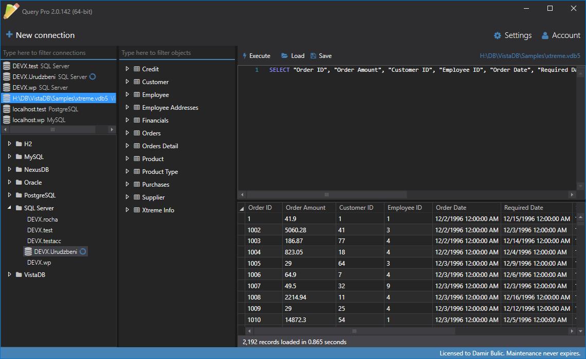 Query Pro Screenshot