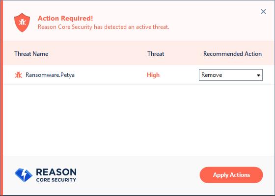 Reason Core Security Screenshot 8