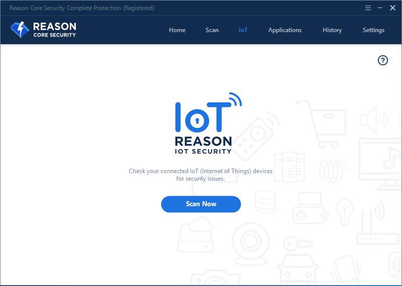 Reason Core Security, Security Software, Antivirus Software Screenshot