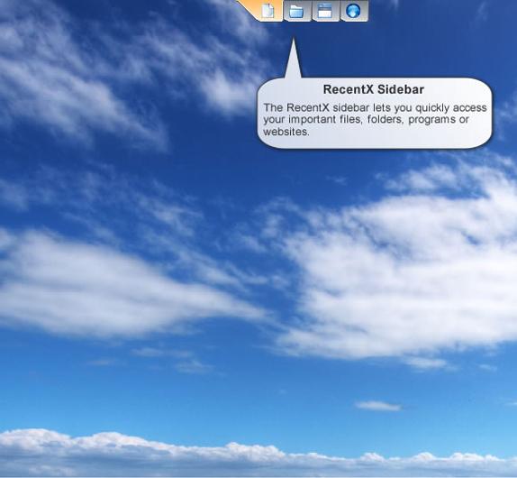 RecentX Launcher Screenshot