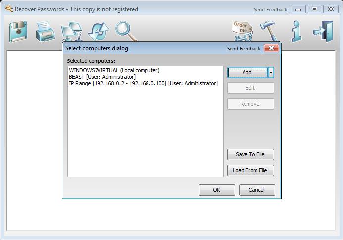 Password Manager Software Screenshot