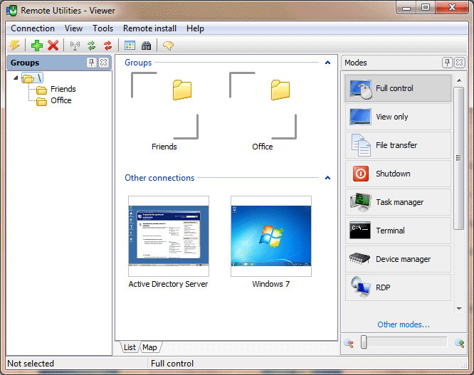 Remote Utilities Home - Remote Access Software Download for PC