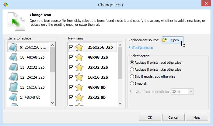 Resource Files Software Screenshot