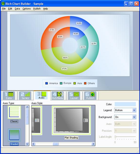 Microsoft Office Software, Rich Chart Builder Screenshot