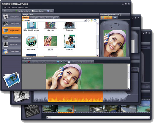 Ringtone Media Studio 2, Ringtone Maker Software Screenshot