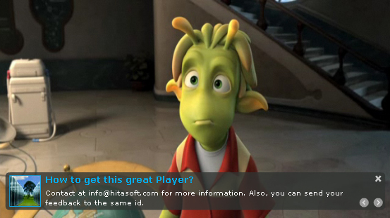 Ripe HD flv Player 1.5, Video Player Software Screenshot