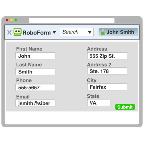 RoboForm Desktop Screenshot