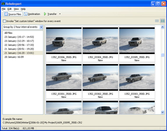 RoboImport Screenshot