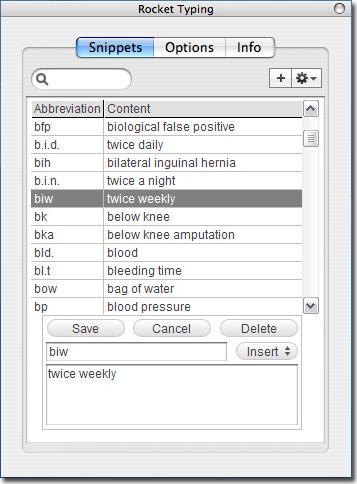 Rocket Typing Screenshot