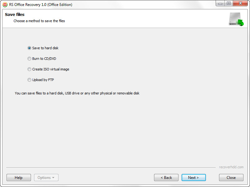 RS Office Recovery, Software Utilities Screenshot