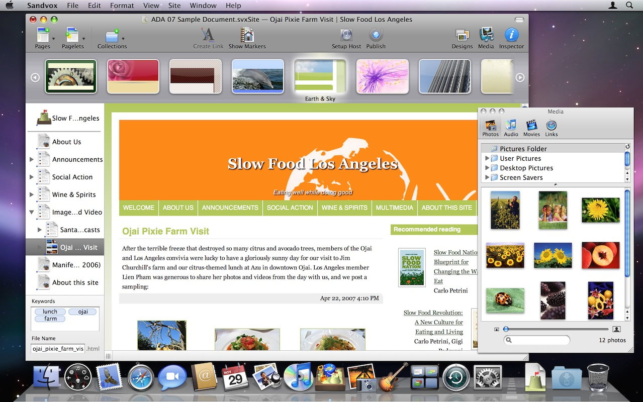 Website builder software mac os free