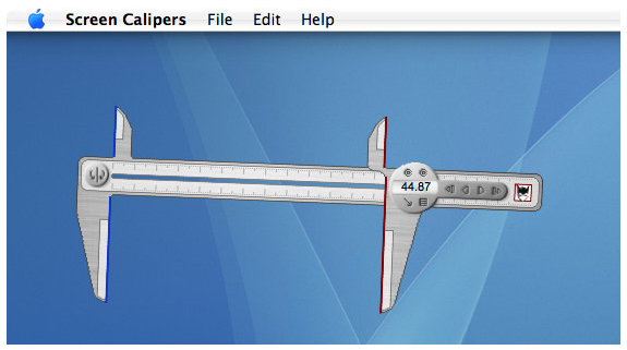 Screen Calipers Screenshot