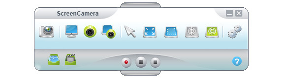ScreenCamera Toolbar Screenshot