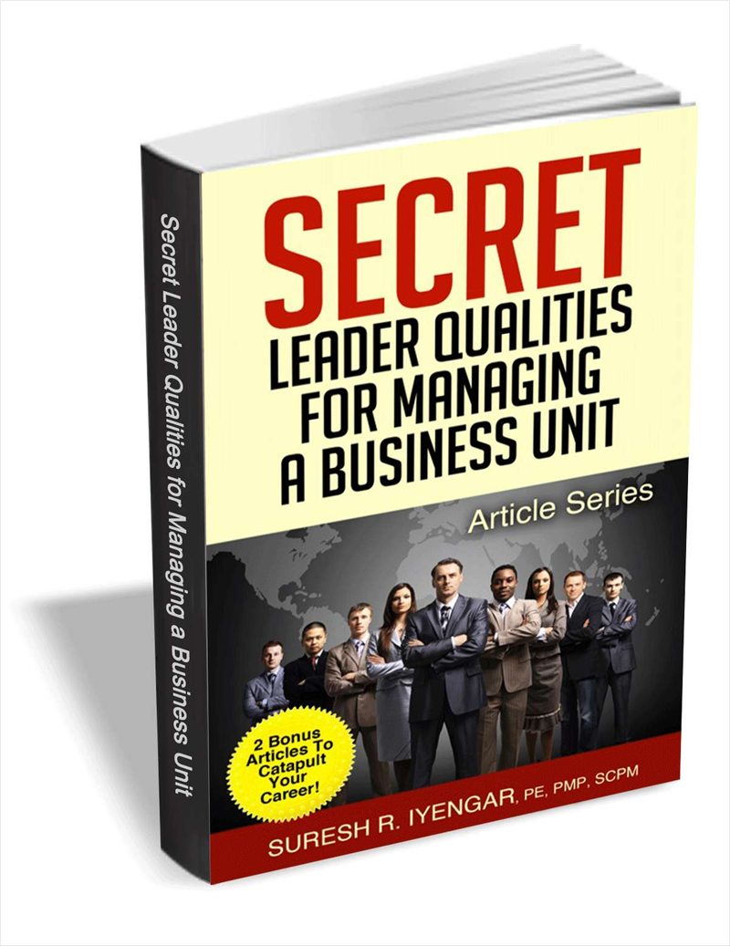 Secret Leader Qualities for Managing a Business Unit Screenshot