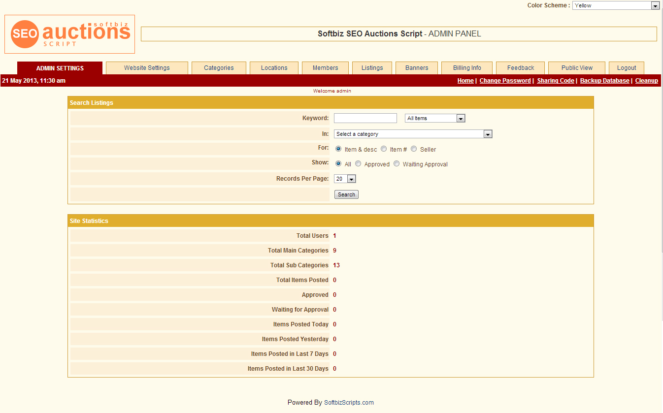 Website Builder Software Screenshot